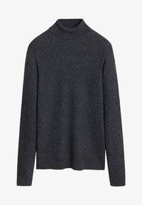 Mango - GASTON - Pullover - mottled dark gray - 3
