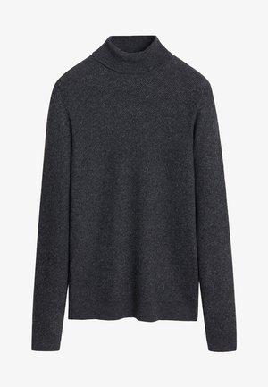 GASTON - Jersey de punto - mottled dark gray
