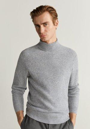 GASTON - Pullover - mottled light grey