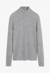 mottled light grey
