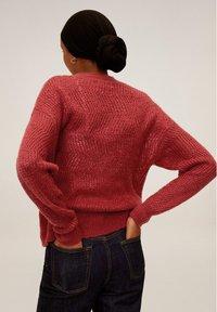 Mango - ZAG - Sweter - rubinrot - 2