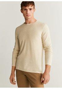 Mango - AVENA - Sweter - open beige - 0