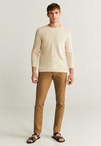 Mango - AVENA - Sweter - open beige - 1