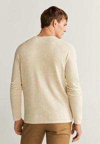 Mango - AVENA - Sweter - open beige - 2