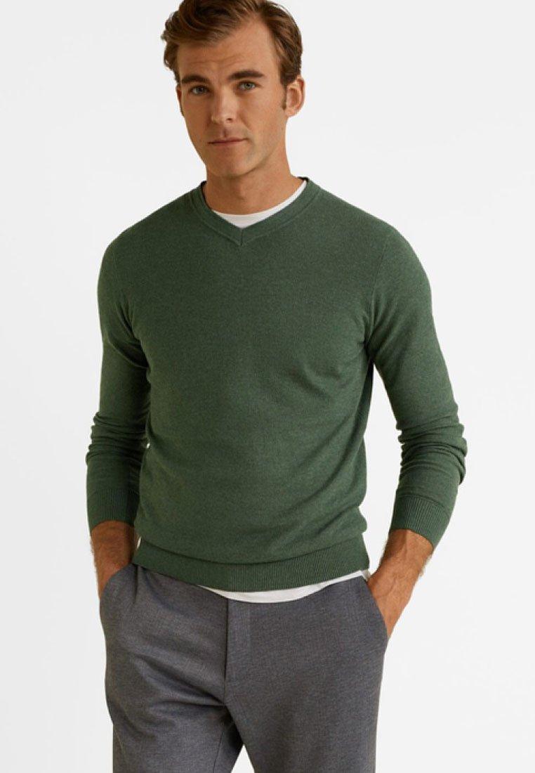 Mango - TENV - Sweatshirt - green
