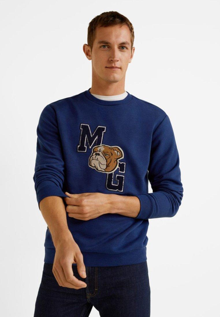 Mango - DOG - Sweatshirt - blue