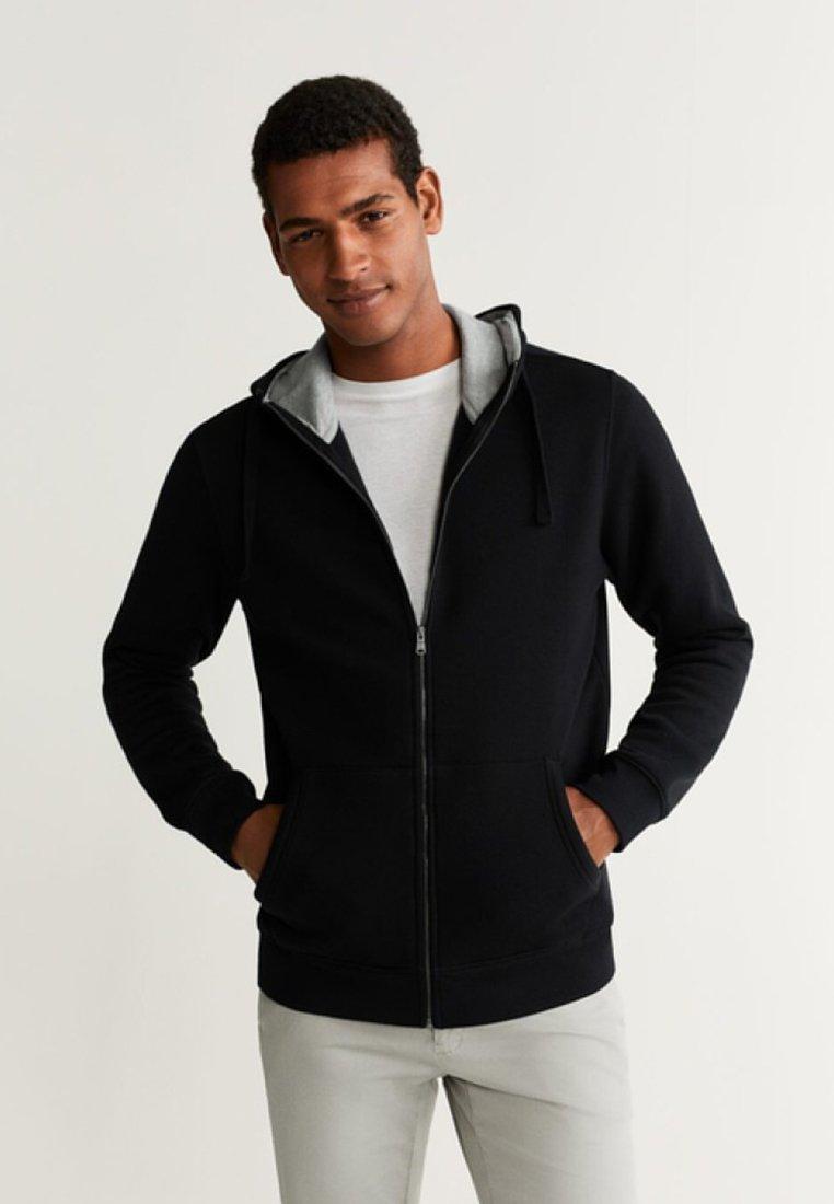 Mango - BADY - Zip-up hoodie - black