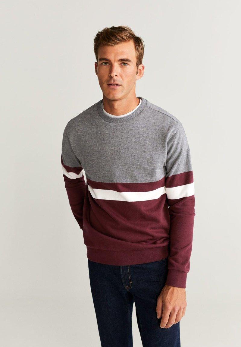 Mango - TOKYO - Sweatshirt - Garnet red