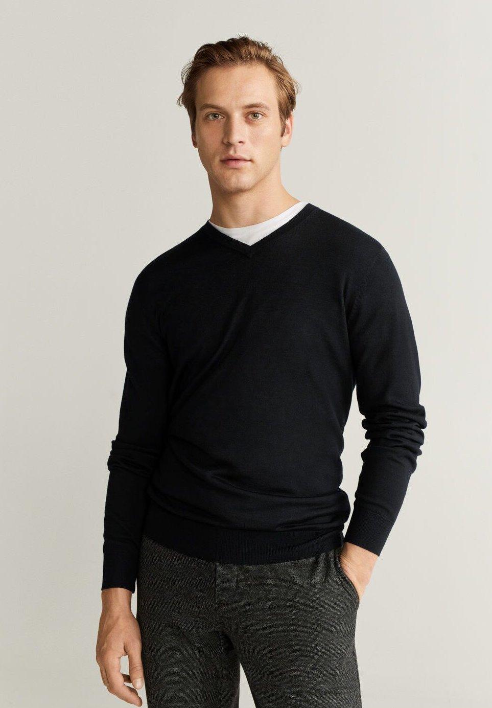 Mango WILLYV - Sweter - black