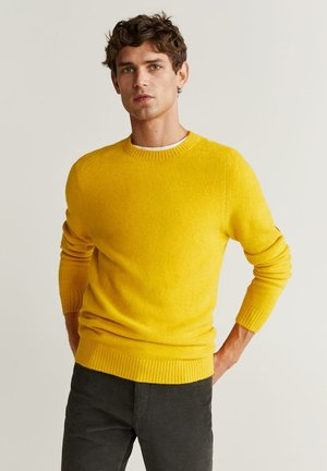 FOAM - Jumper - mustard yellow