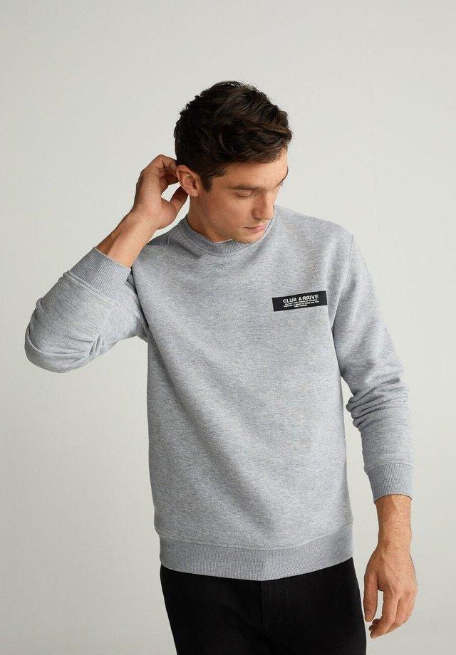 CLUB - Sweatshirt - light grey