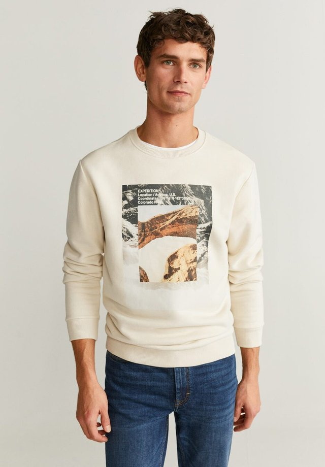 EXPED - Sweatshirt - creamy white