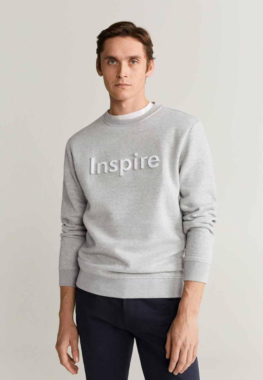 Mango INSPIRE - Bluza - gray