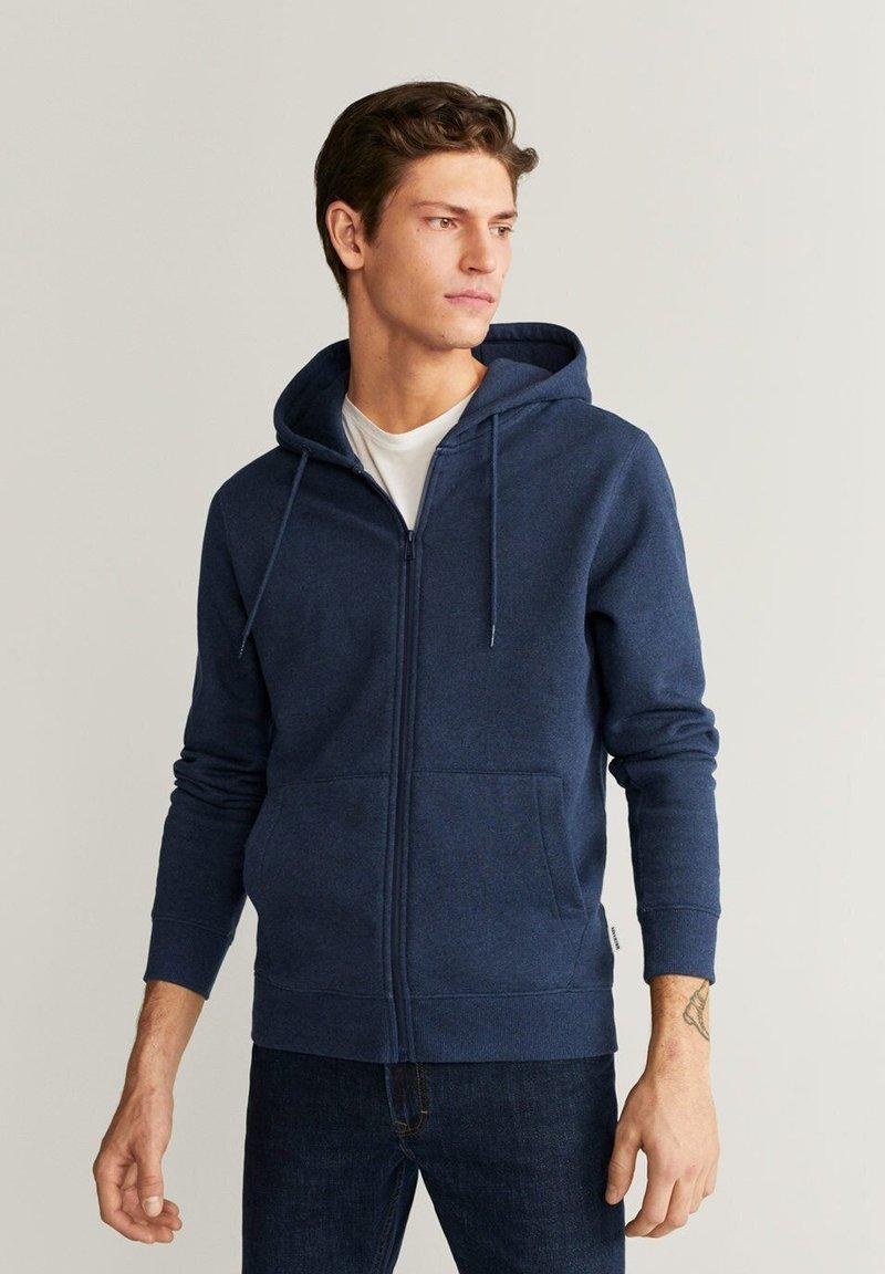 Mango - BADY - Zip-up hoodie - indigoblau