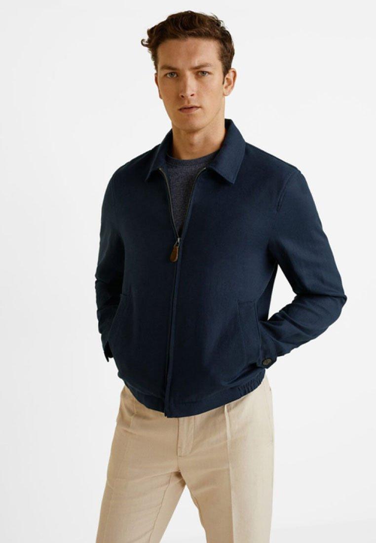 Mango - JAVIER - Leichte Jacke - dark navy blue