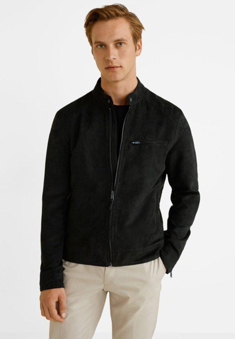 Mango - INDA - Outdoor jacket - black