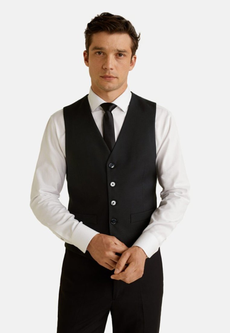 Mango - BRASILIA - Suit waistcoat - black