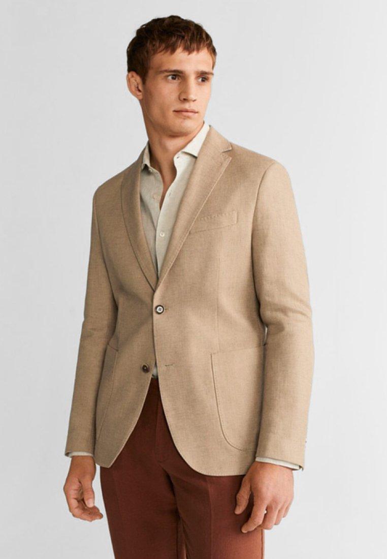 Mango - JADIDA - Blazer jacket - sand