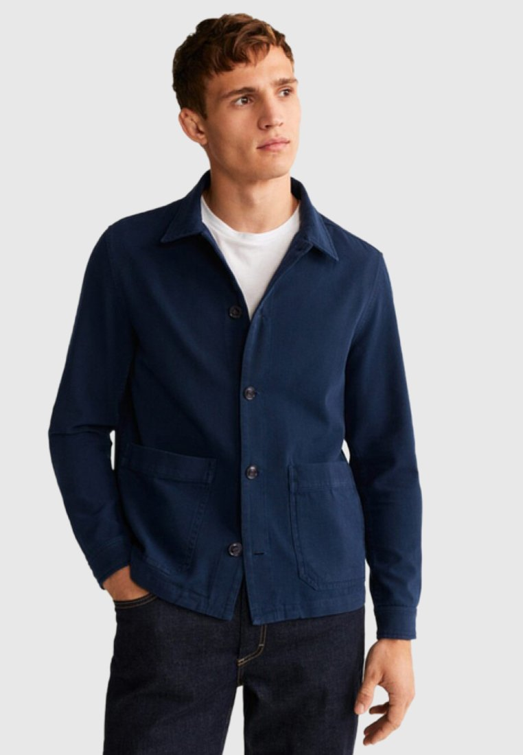 Mango - MELONA - Summer jacket - blue