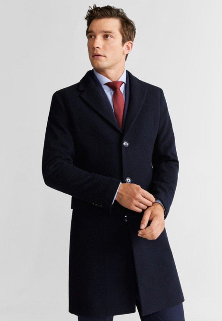 Mango - ARIZONA - Short coat - navy blue