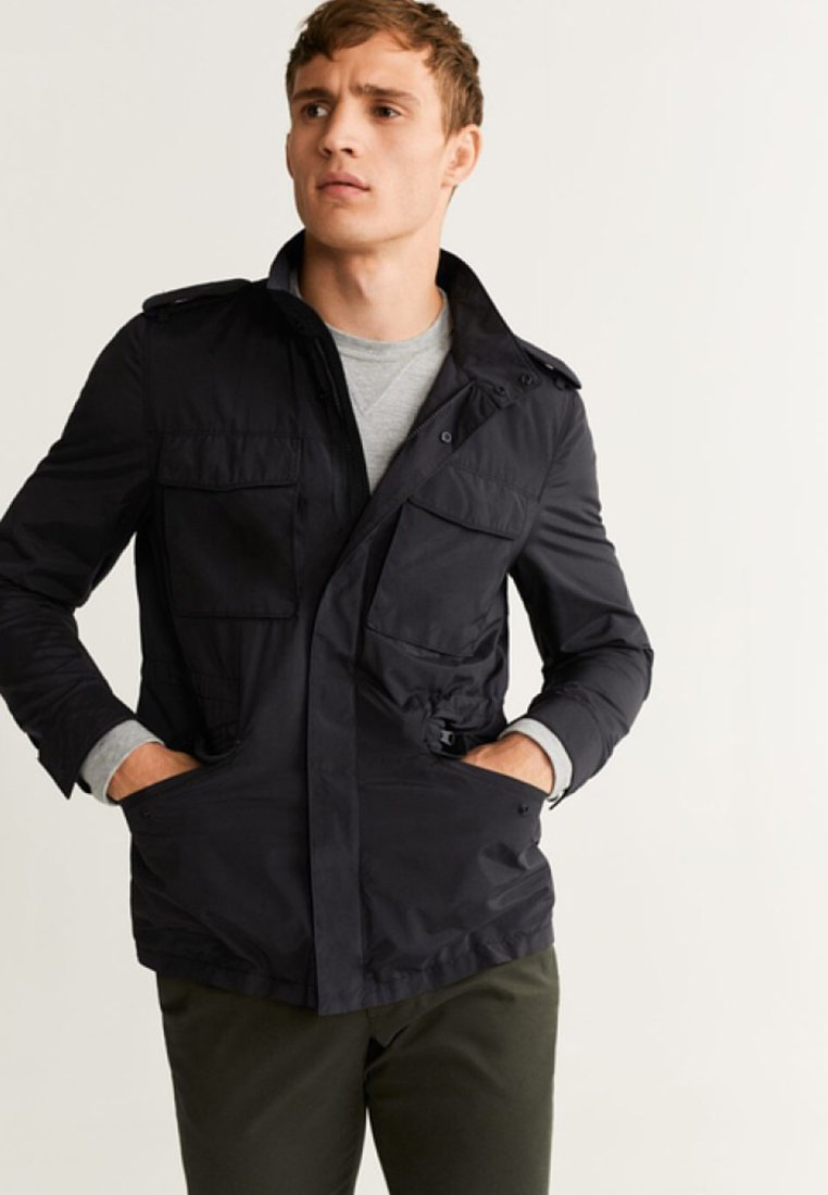 Mango - TOCH - Summer jacket - black