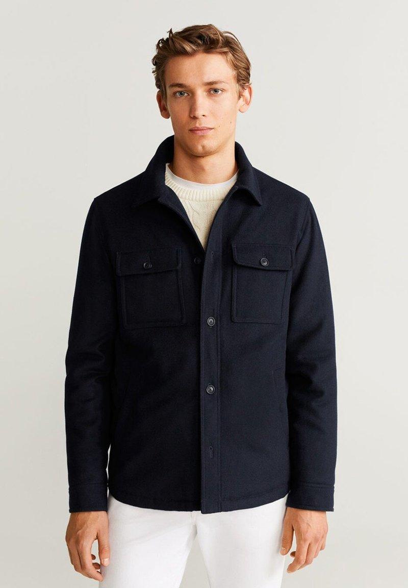 Mango - GRUE - Outdoor jacket - dunkles marineblau