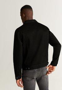 Mango - RYAN5 - Giacca di jeans - black denim - 2