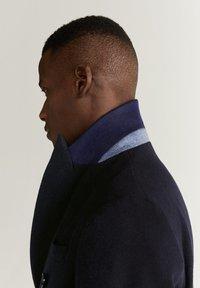 Mango - ALETA - Classic coat - dark navy blue - 5
