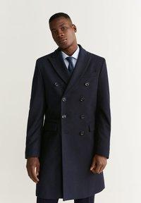 Mango - ALETA - Classic coat - dark navy blue - 0