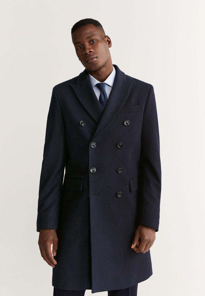 Mango - ALETA - Classic coat - dark navy blue
