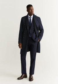 Mango - ALETA - Classic coat - dark navy blue - 1