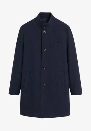Wollmantel/klassischer Mantel - dark navy blue