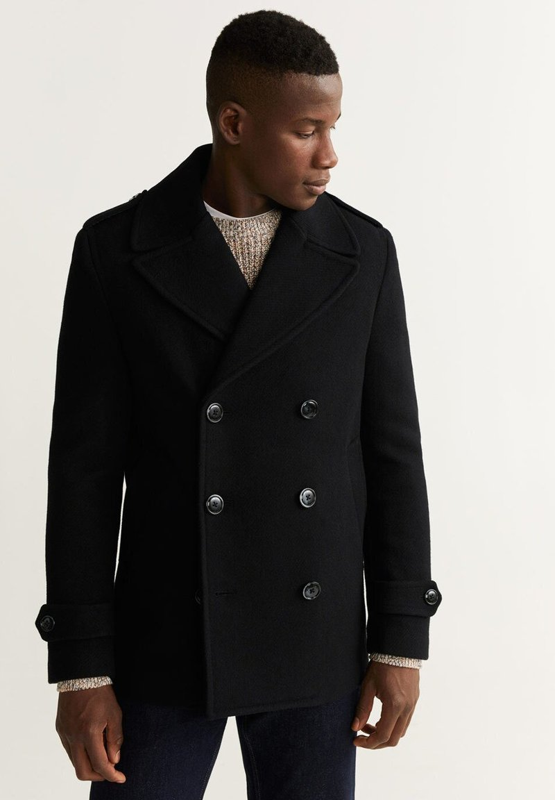 Mango - TINOF - Short coat - black