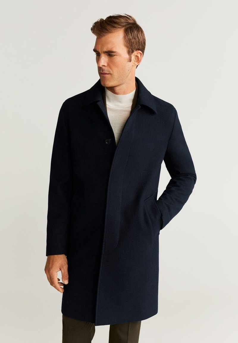 Mango - IDAHO - Classic coat - dark navy blue