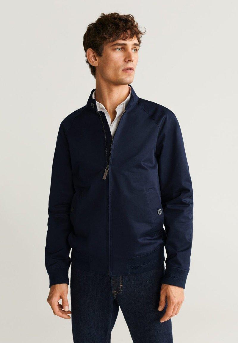 Mango - BERRY - Outdoor jacket - Dark navy blue