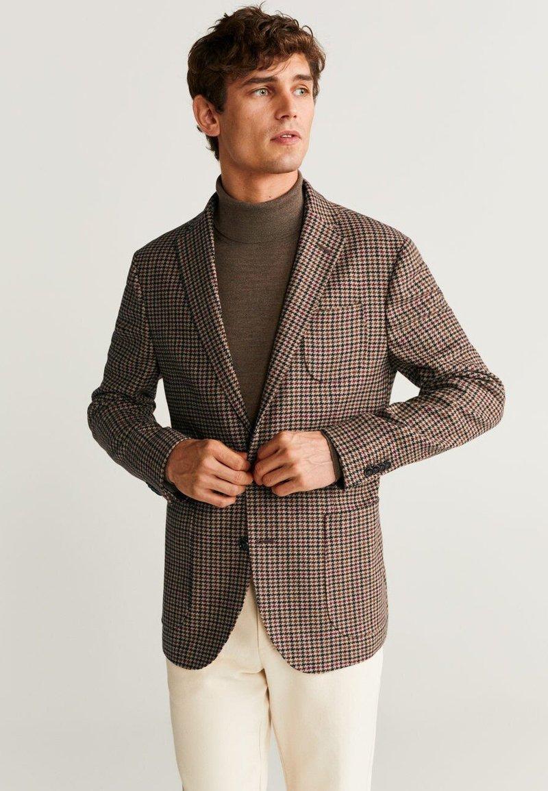 Mango - LARCH - Blazer jacket - brown