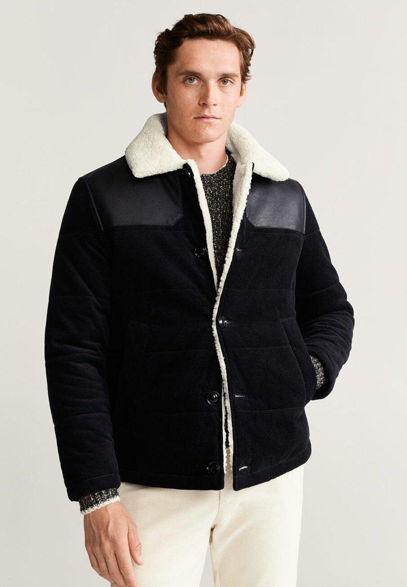 Mango - MISSOURI - Winter jacket - black