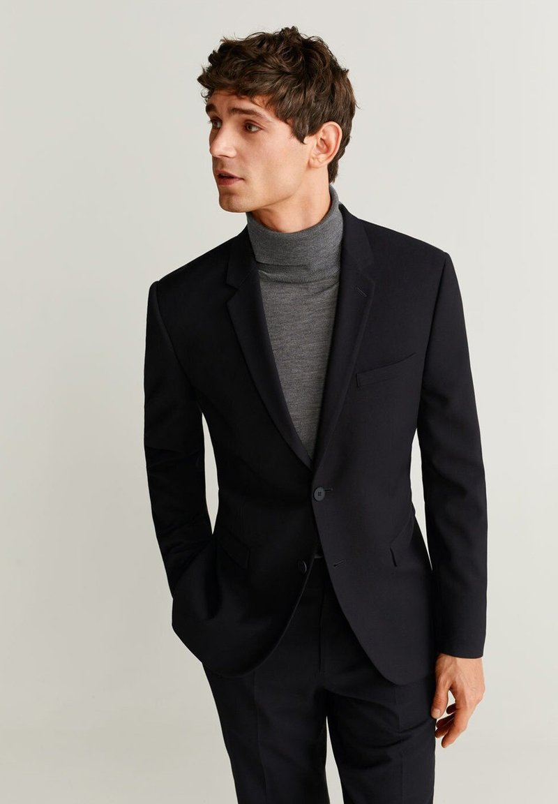 Mango - PAULO - Blazer jacket - black