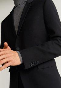 Mango - PAULO - Blazer jacket - black - 4