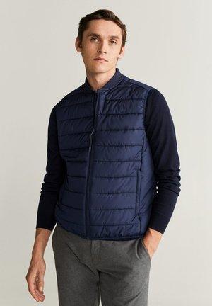 CHAL - Waistcoat - dark navy blue