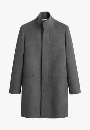 FUNNEL - Abrigo corto - mottled medium grey