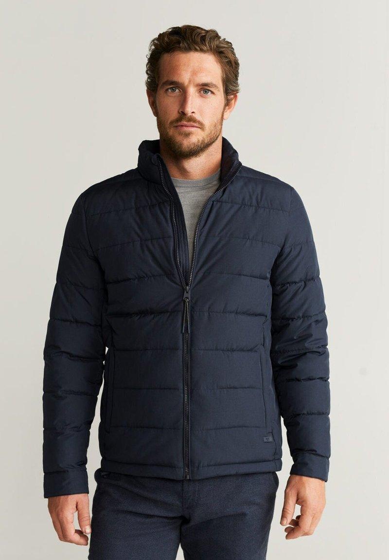 Mango - TARGET - Veste d'hiver - dark navy blue