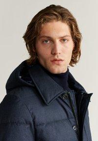 Mango - STREET - Winter coat - dark navy blue - 3