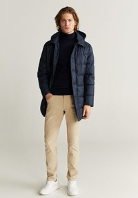 Mango - STREET - Winter coat - dark navy blue - 1