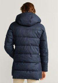 Mango - STREET - Winter coat - dark navy blue - 2