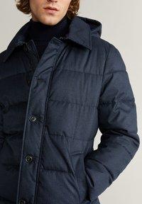 Mango - STREET - Winter coat - dark navy blue - 4