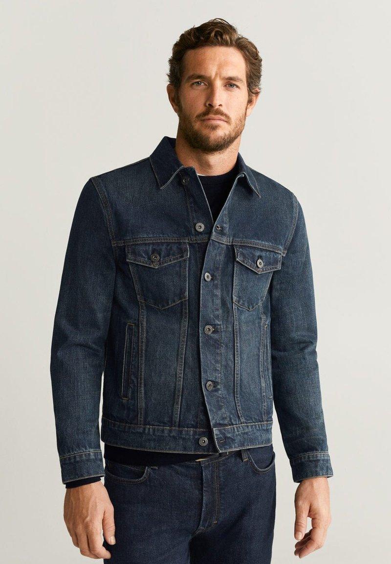 Mango - RYAN - Denim jacket - blue