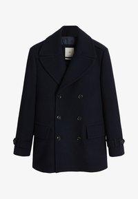 Mango - OTTONE - Halflange jas - dark navy blue - 6