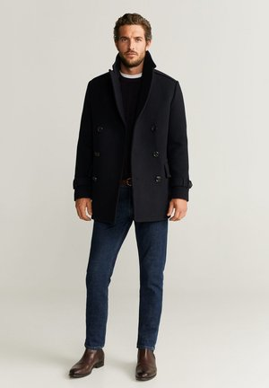 OTTONE - Short coat - dark navy blue