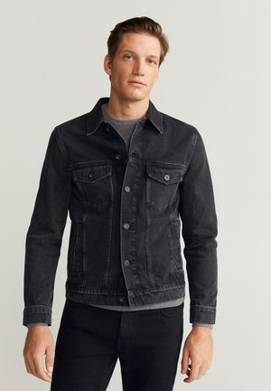 RYAN - Spijkerjas - black denim